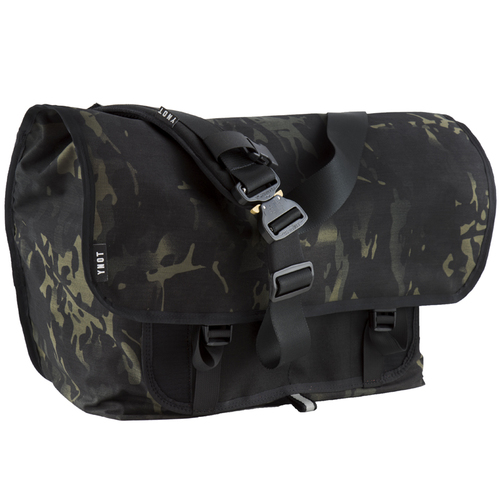 7022de67888 Courselle Cycles YNOT Junction Messenger Bag black multicam cobra buckle 1