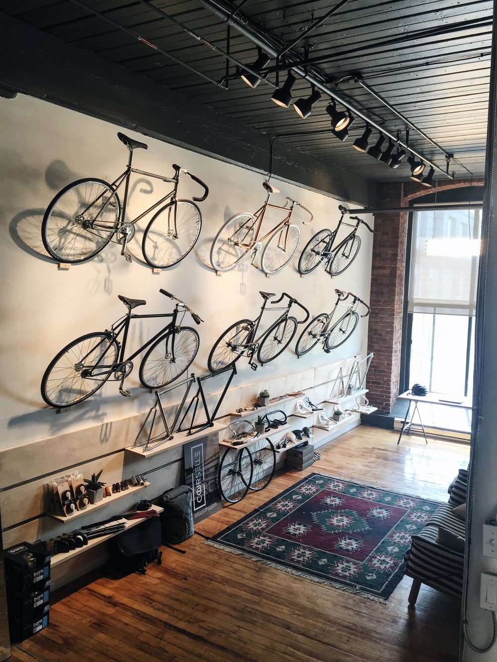 Courselle Cycles Showroom