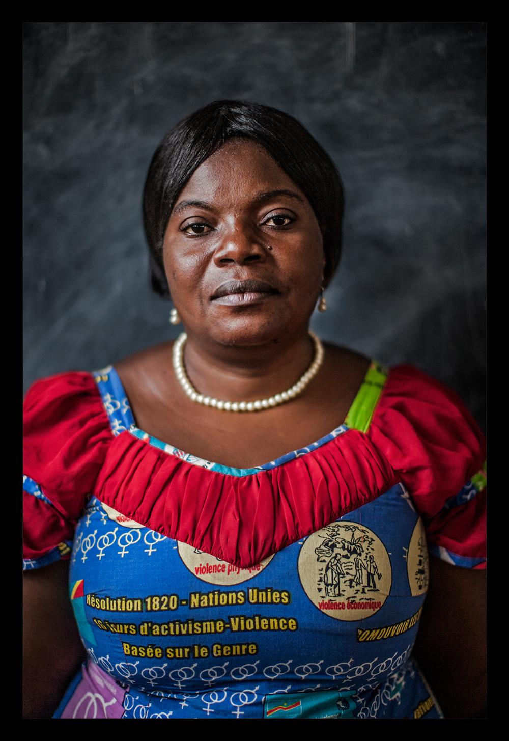 Portrait of Solange Lwashiga Furaha