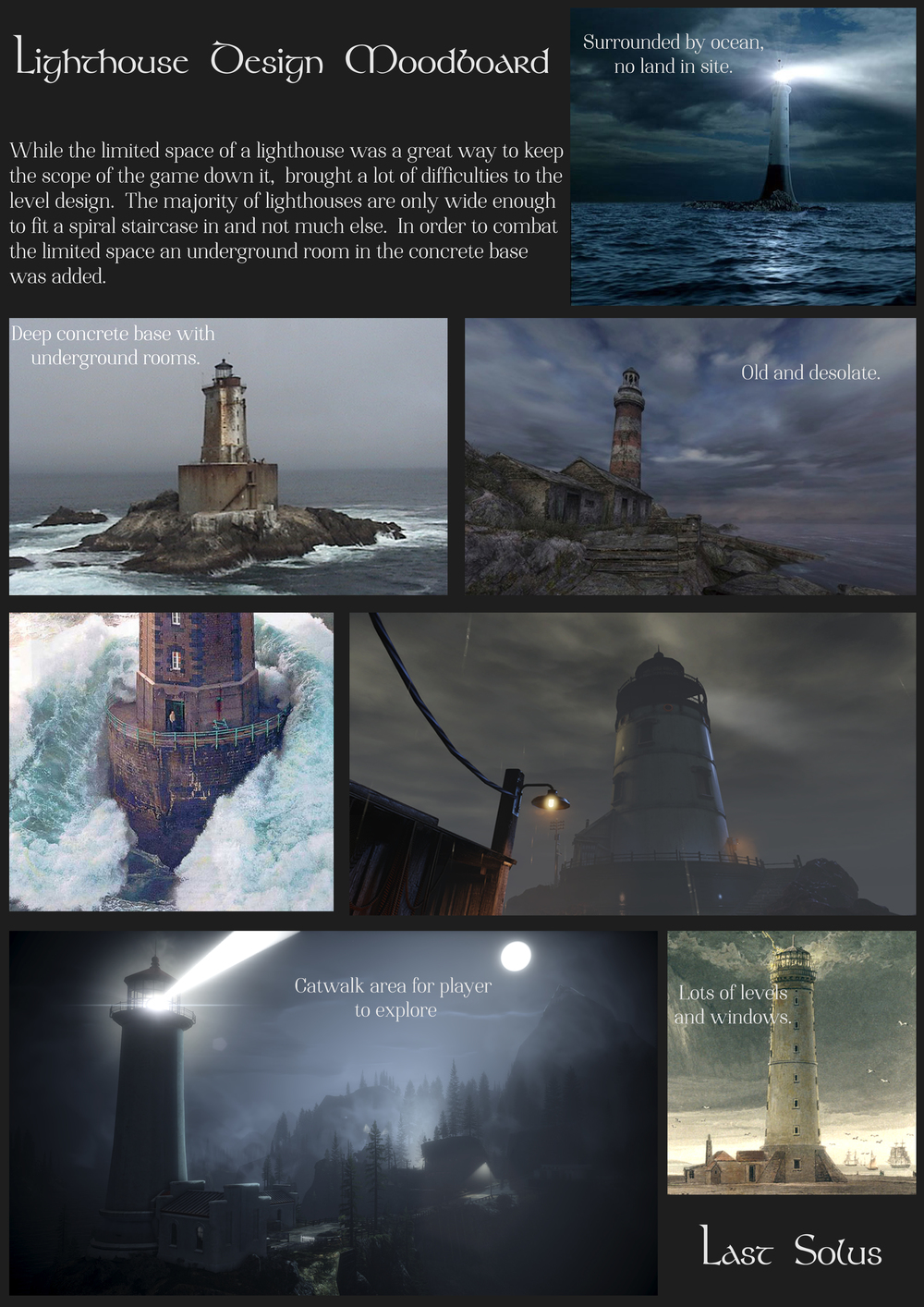 Lighthouse Moodboard