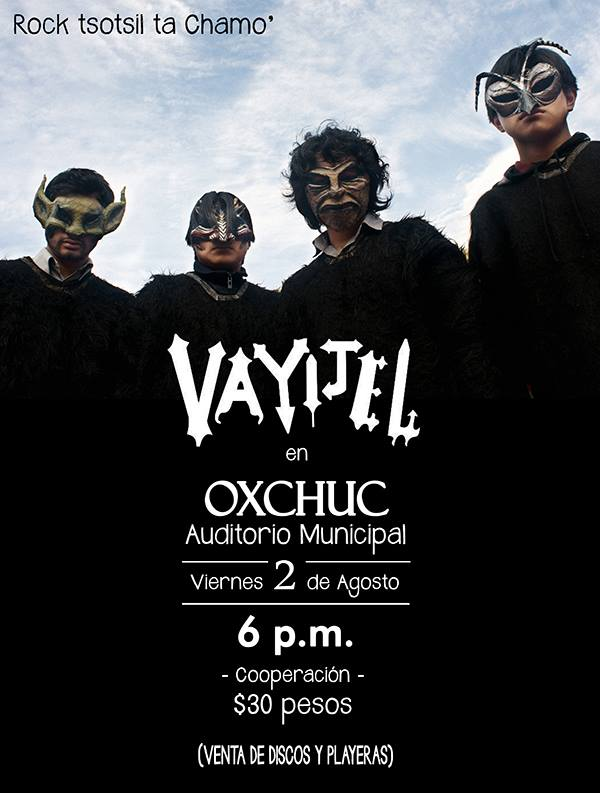 concierto en Oxchuc