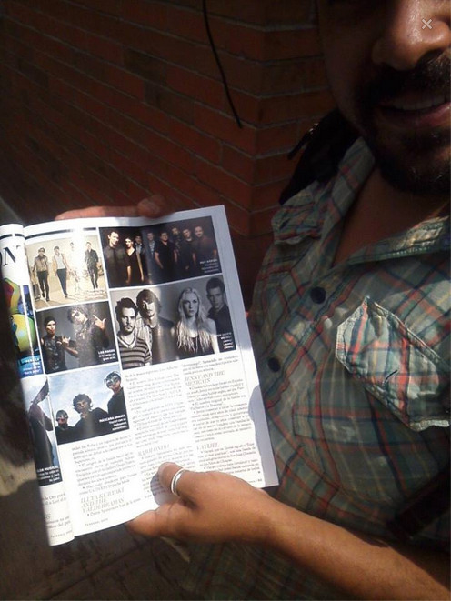 inserto magazine Rolling Stone.
