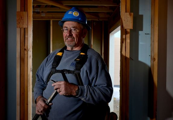 Click on the photo to read about how this retired Erie resident has contributed so much to Habitat.