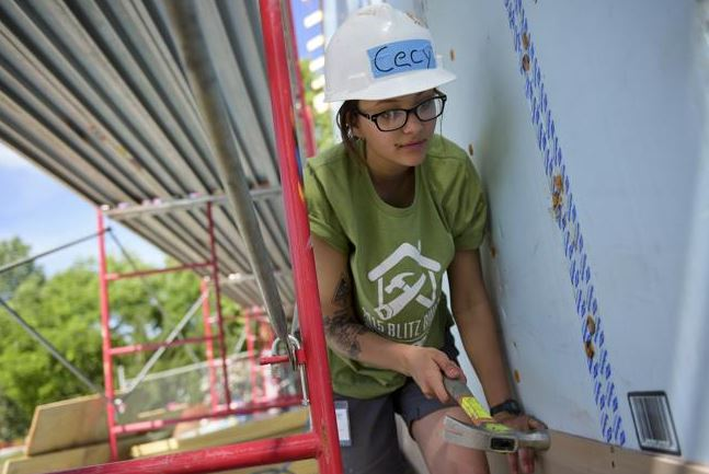 We hosted the annual AmeriCorps Build A Thon. To see more photos and the full article click here.