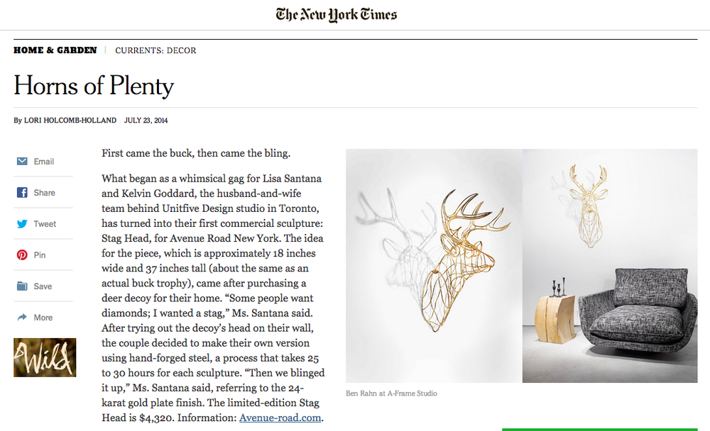 NEW YORK TIMES - JULY 23, 2014