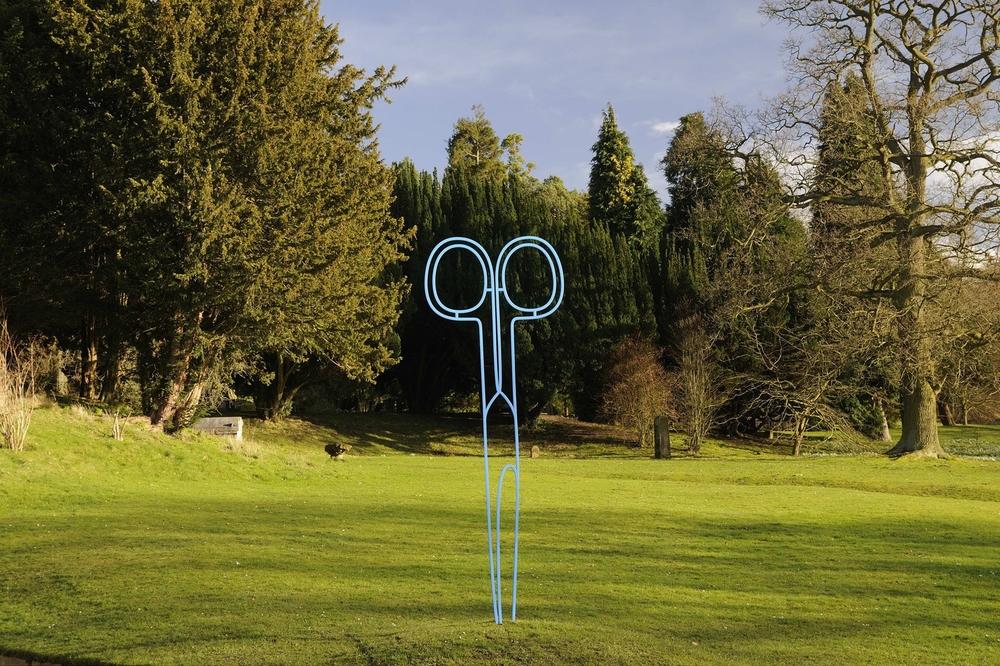 Scissors (blue)