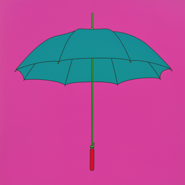 Untitled (umbrella), 2014