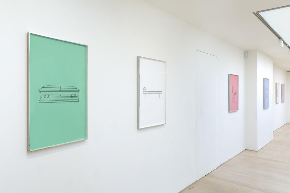 Michael Craig-Martin Quotidian_Alan Cristea Gallery 2017 installation. Photo FXP Photography (14)~hi.jpg