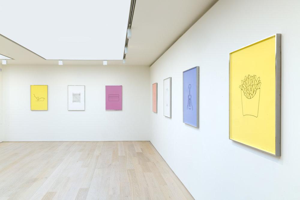 Michael Craig-Martin Quotidian_Alan Cristea Gallery 2017 installation. Photo FXP Photography (16)~hi.jpg