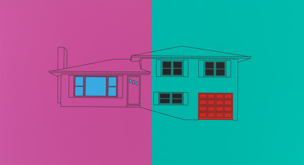 Untitled (split-level), 2018
