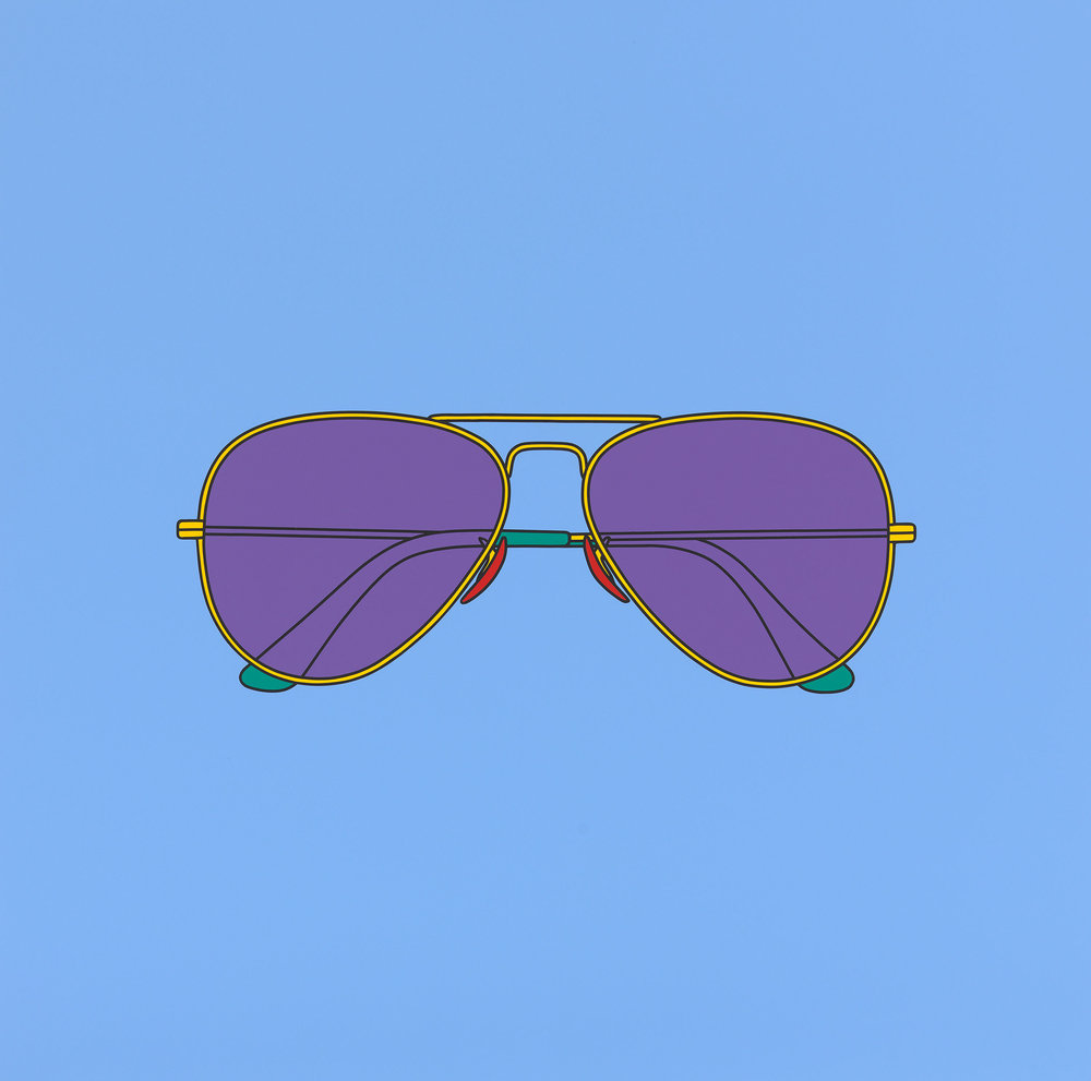 Untitled (sunglasses), 2018