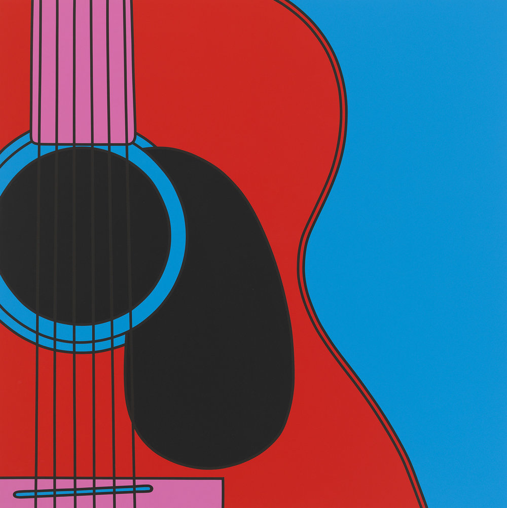 Untitled (guitar), 2018
