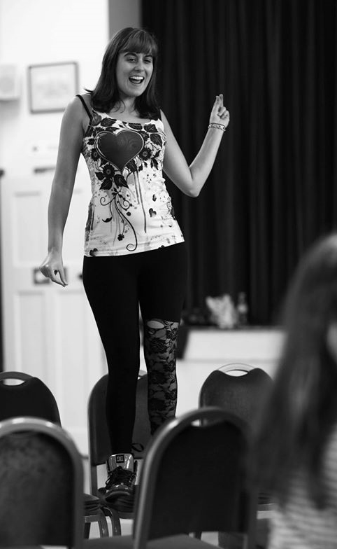 Laura in rehearsal  (Photo courtesy of  Front of House Photography  )