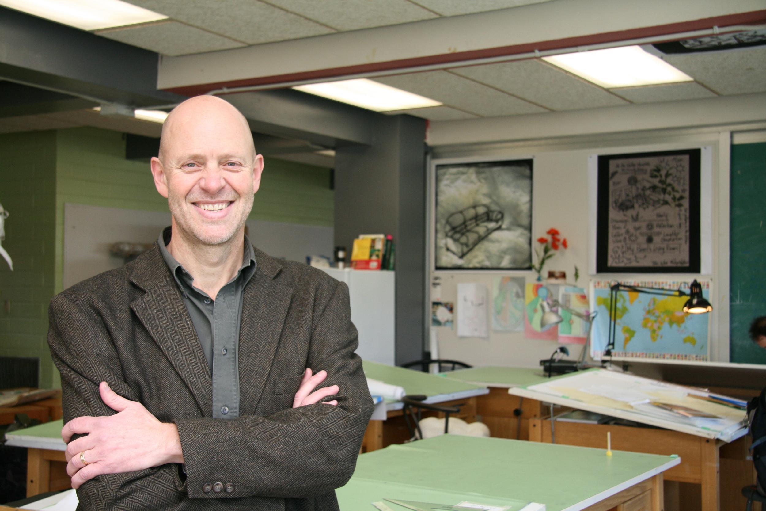 Robert Brown in Design Studio 1