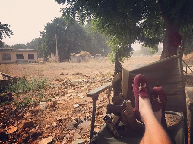 Our slippers get everywhere, this time North East Nigeria giving their owners a distinct sartorial if not tactical edge over the enemy. #mensaccessories #mensgoods #love #mensstyle #instagood #style #british #present #britishmade #fashion #fashionblogger #gentlemen #winter #bespoke #luxury #menswear #huntball #handmade #uk #shooting #fishing #stalking #countryside #sport #seasons #blacktie #africa #slippers #counterinsurgency