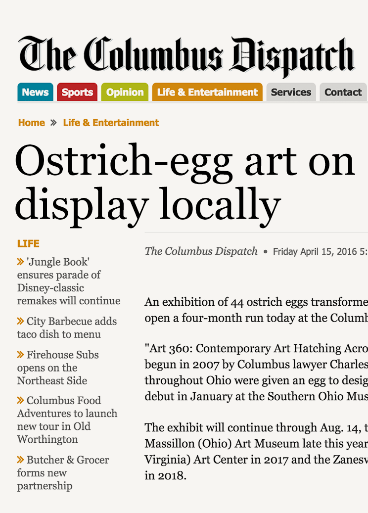 Read the April 15, 2016  Columbus Dispatch  story
