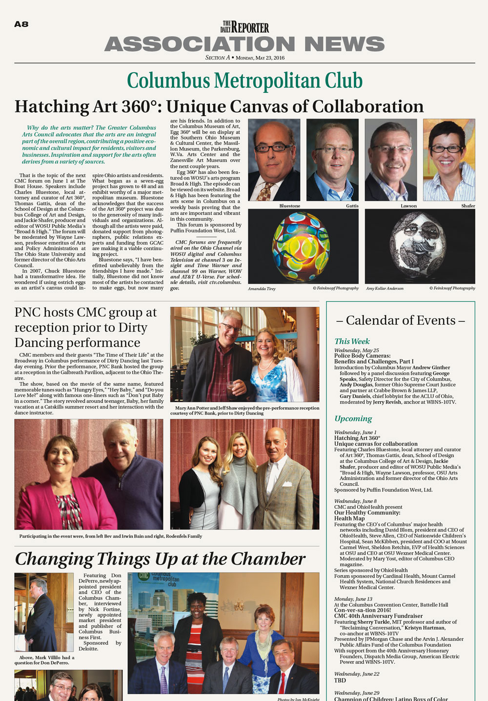 Read the May 23, 2016 Daily Reporter article