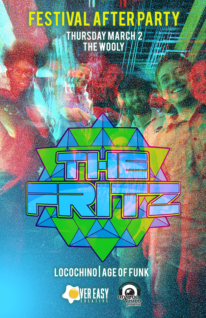 The Fritz  at  The Wooly   w/ Special Guests  Locochino  + Age Of Funk  3/2 | 9:00 PM | $10 / $13  THE FRITZ IS LIVE ROCK. THE FRITZ IS LIVE FUNK. THE FRITZ IS LIVE MUSIC. After five years of traveling the East Coast and steadily building a reputation as a live act not to be missed, Asheville music ambassadors, The Fritz, played a strong year of sets showing thousands of new fans what throngs of Southeastern music lovers have known for years: The Fritz likes to get funky. As much as they take their funk seriously, the band takes it's rock-honed songwriting just as seriously, but the well crafted song is not the only final product in the live forum. Individually, the members of The Fritz are masters of improvisation, carefully weaving their personality into each performance. While the music may range from hard driving soul to progressive rock, a common thread of The Fritz's passionate energy reigns true in each show. Whether live or in the studio, the band creates an energetic dance party every time. Their 2013 release, Bootstrap, released positive acclaim around the region. The Fritz brought several unforgettable performances to festivals all over the East Coast. As 2016 rounds to a close, the boys are preparing to enter the studio to record a new album with the help of Dave Brandwein (Turkuaz, The London Souls, Zongo Junction). The Fritz looks forward to a great year in 2017, as they continue to spread the good Fritz gospel of intoxicating live music.