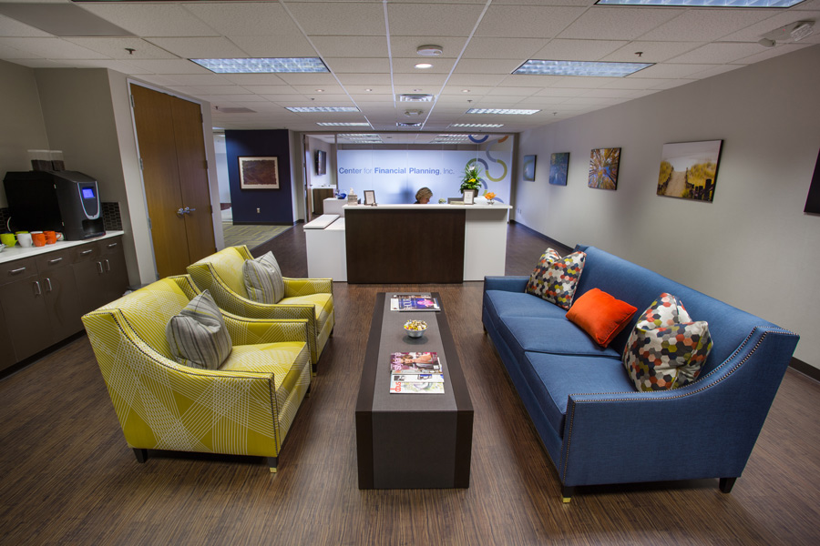 Our New Office Design Attracts Attention Center for Financial