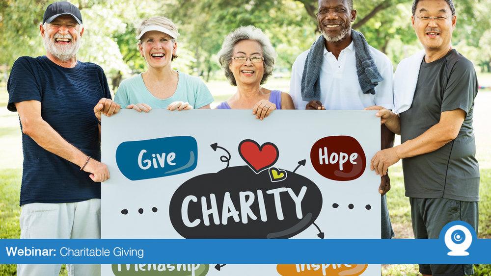 January 2019: Charitable Giving