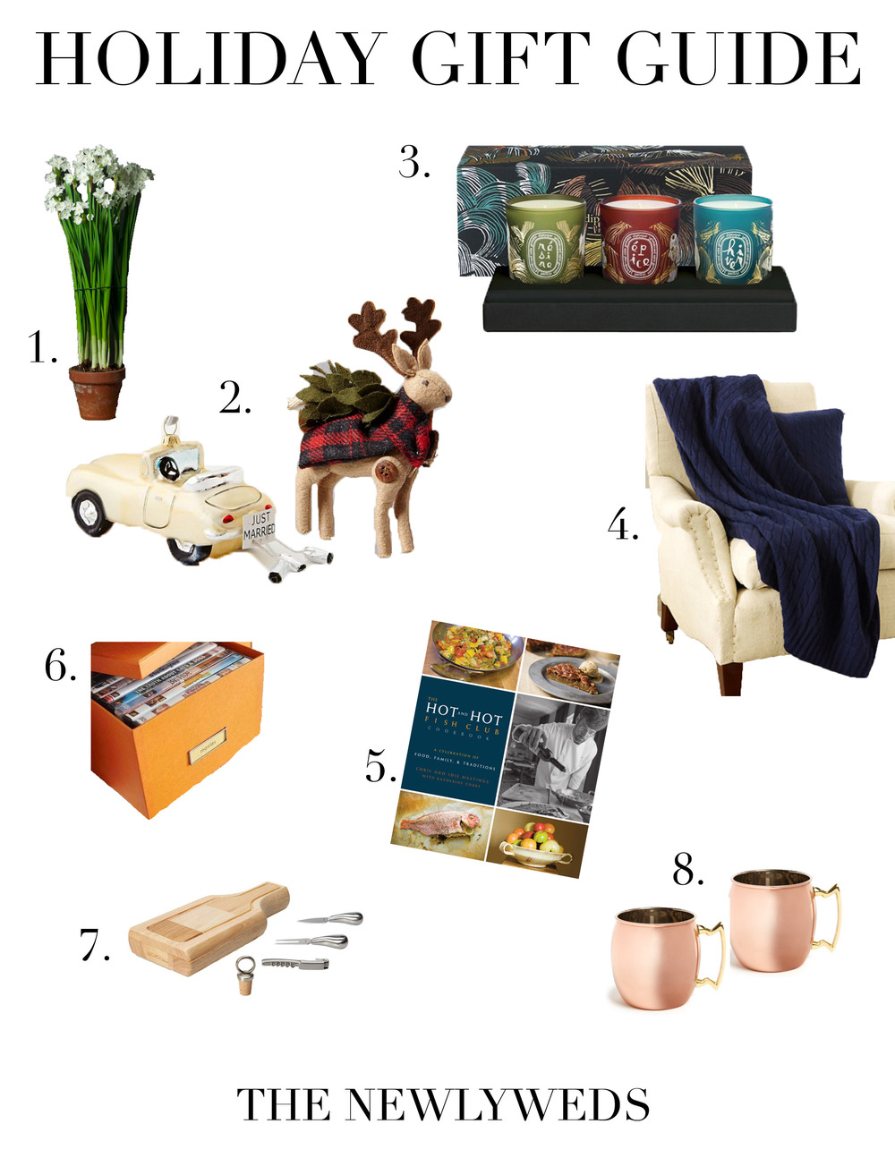 Handley breaux designs _ holiday gift guide _ birmingham wedding planner