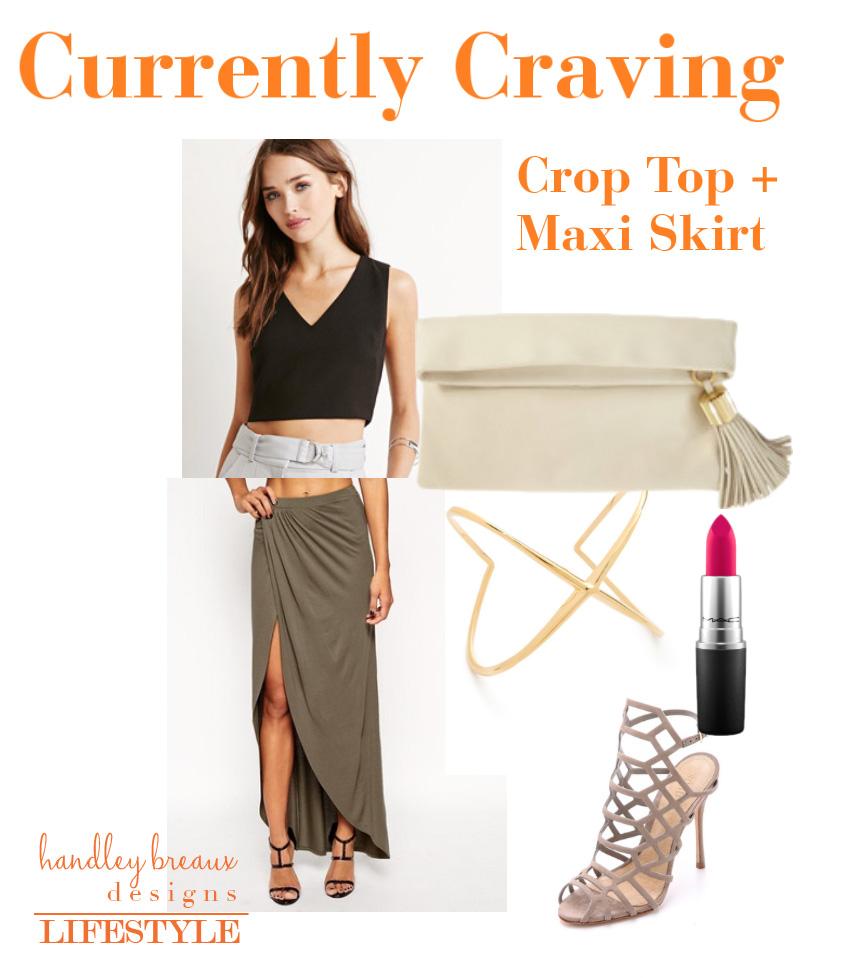 Top:  Forever 21  | Skirt:  ASOS  | Clutch:  India Hicks  | Bangle:  Elizabeth & James  | Lipstick: MAC | Shoes:  Schutz via ShopBop