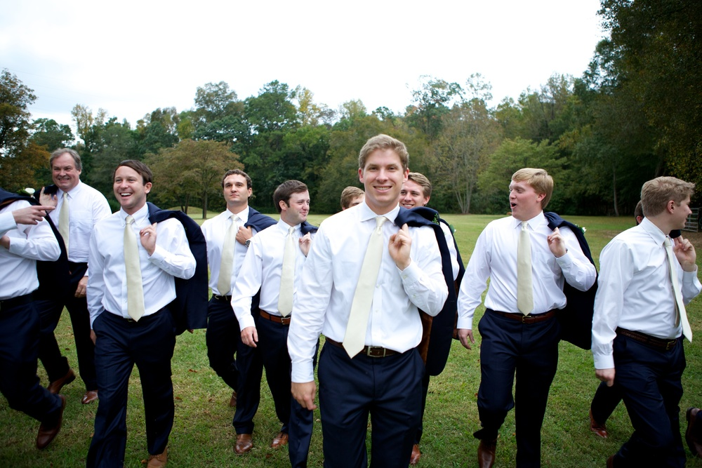 Handley Breaux Designs | Groomsmen | Alabama Wedding Planner | Birmingham Wedding Planner
