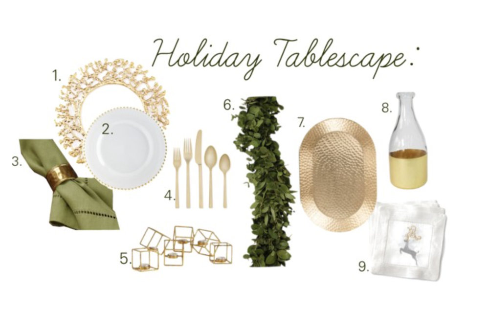 handley breaux designs _ holiday decorating _ holiday tablescape