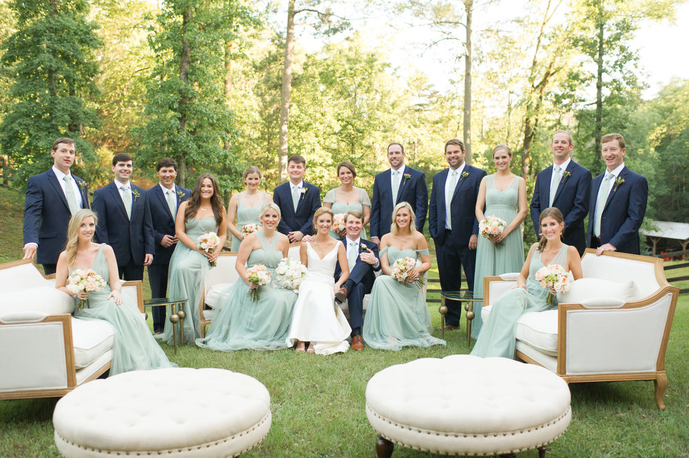 Handley Breaux Designs | Alabama Wedding Planner | Southern Wedding Planner | Barn Wedding | Jess & Ben