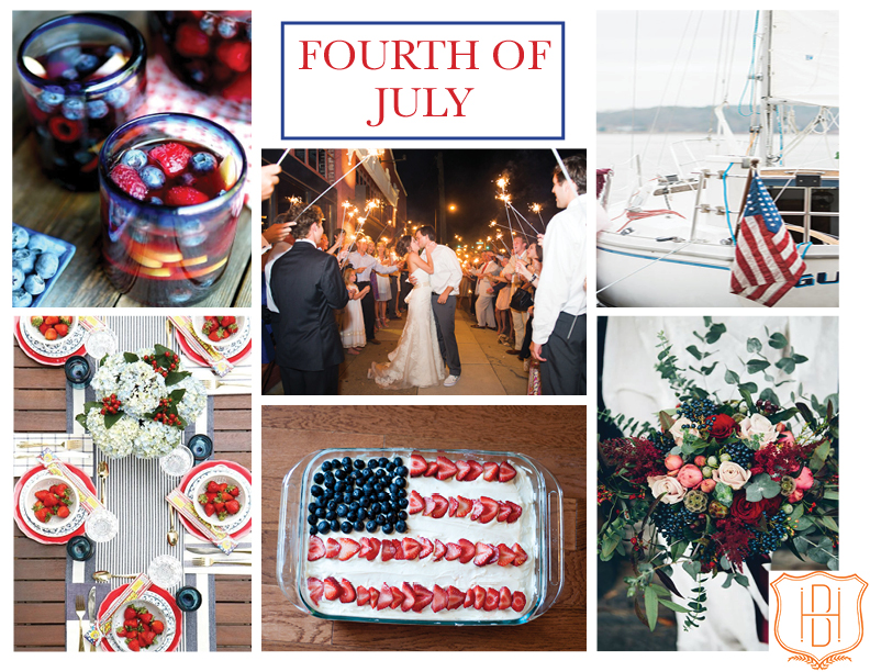 Handley Breaux Designs + Southern Wedding Planner + Birmingham Wedding Planner + Fourth of July
