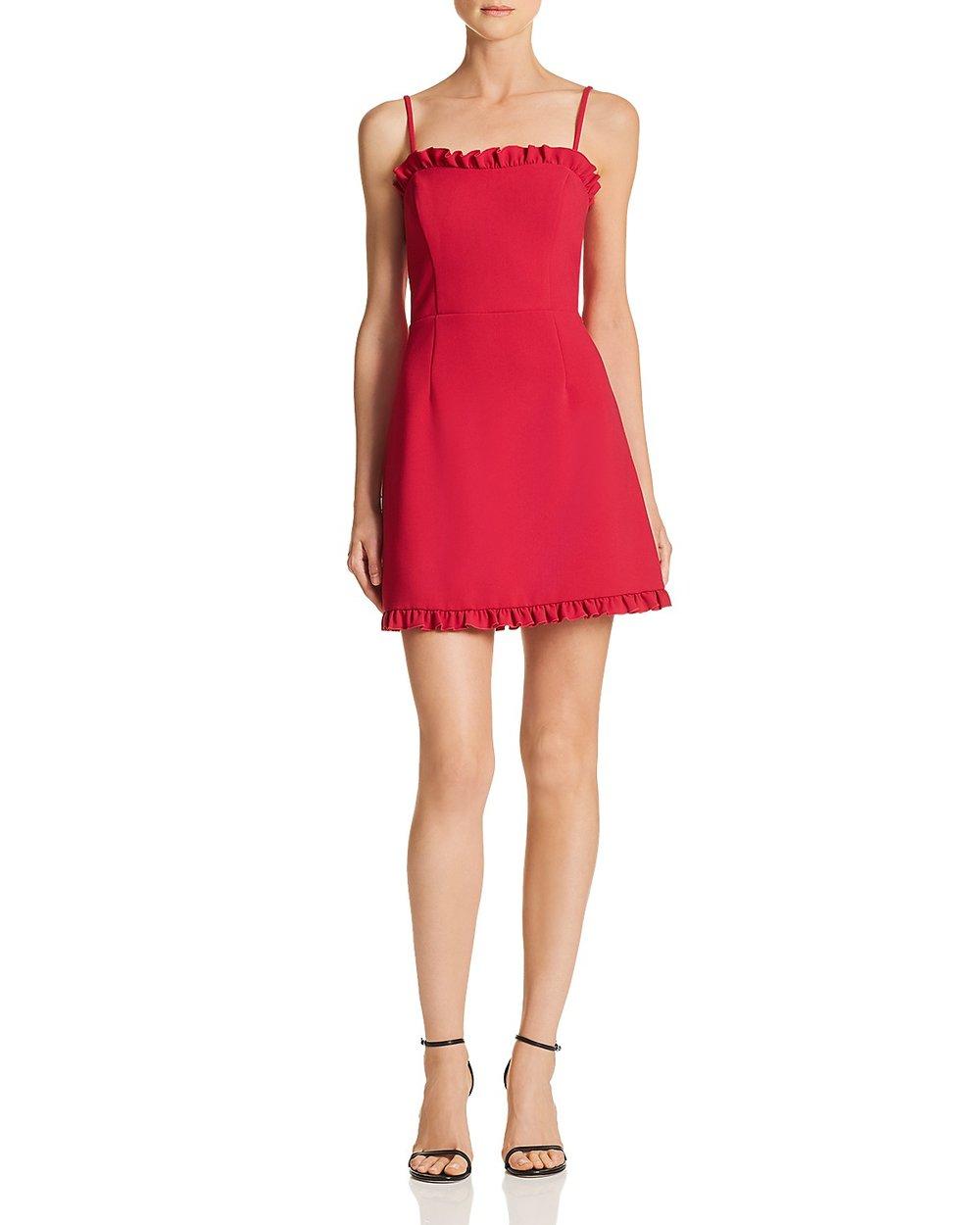Simple & elegant- shop this red dress at  Bloomingdales .