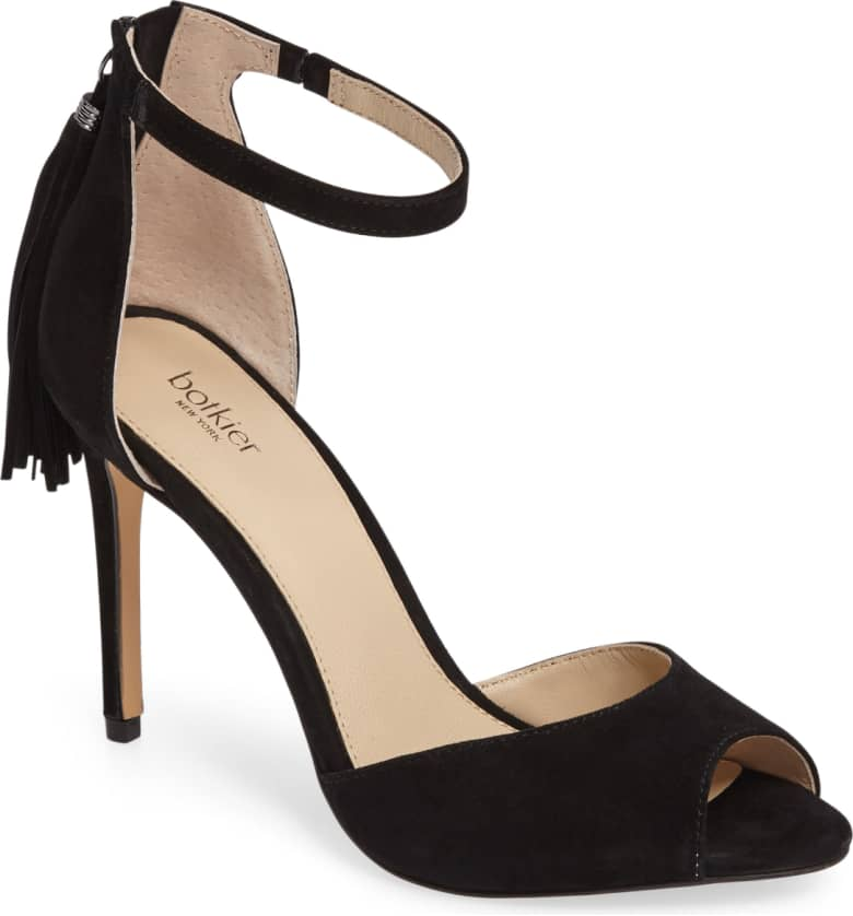 We love this  classic black hee l you know you'll wear again.