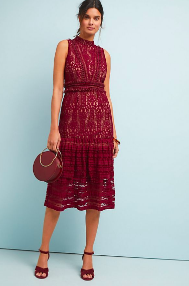 This dress  is perfect for when its still warm out, but you want to dress for fall. It comes in navy also!