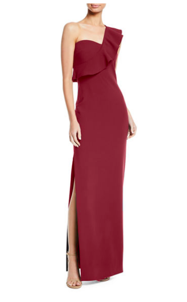 Wine colored dresses are always a good choice! Shop this dress  here .