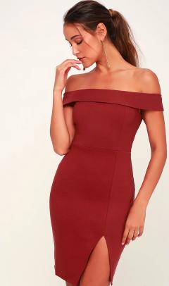 Off-the-shoulder dresses always make an elegant statement! Clink  this link  to shop.