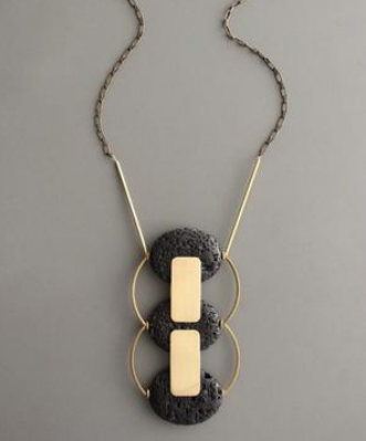 Add a statement piece to a simple dress with this  beautiful necklace !