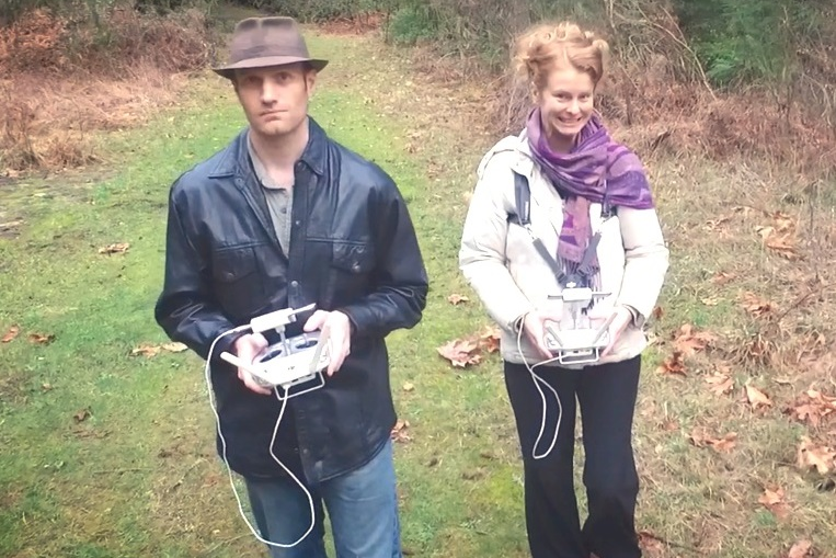 We now take the Inspire 1 for walks instead of our dog.