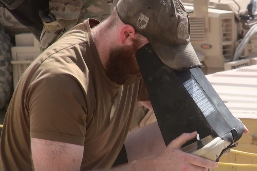 Jason Schiffner was awarded a Bronze Star for proving an experimental sUAS in Afghanistan during combat.