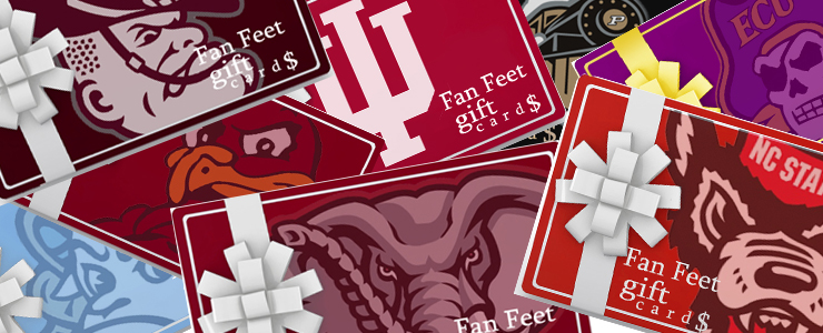 Fan Feet Gift Cards