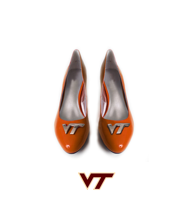 Hokie Flats  - Orange