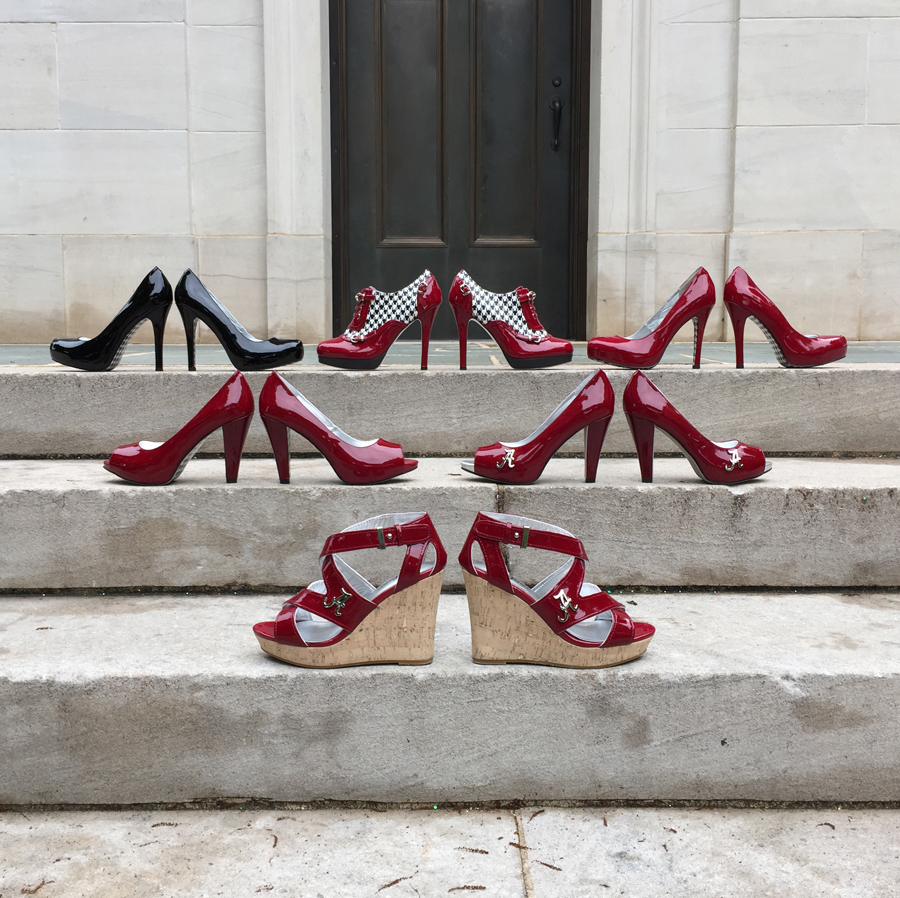 Alabama Heesl - Bama Heels and Houndstooth Collections at Denny Chimes