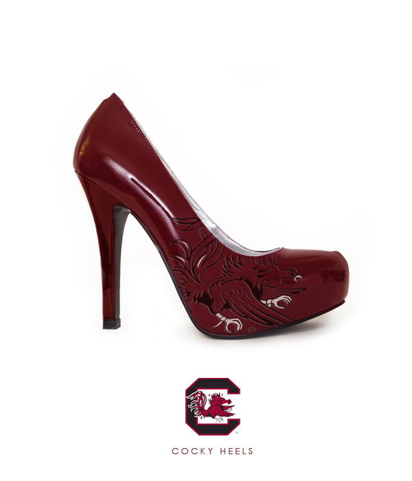 South Carolina Cocky Heels