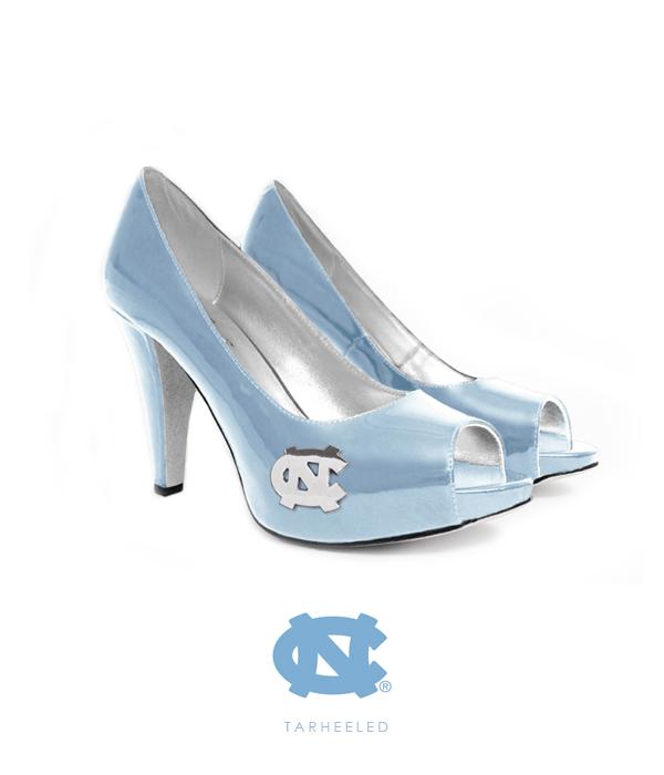 UNC Blue Heaven Heels