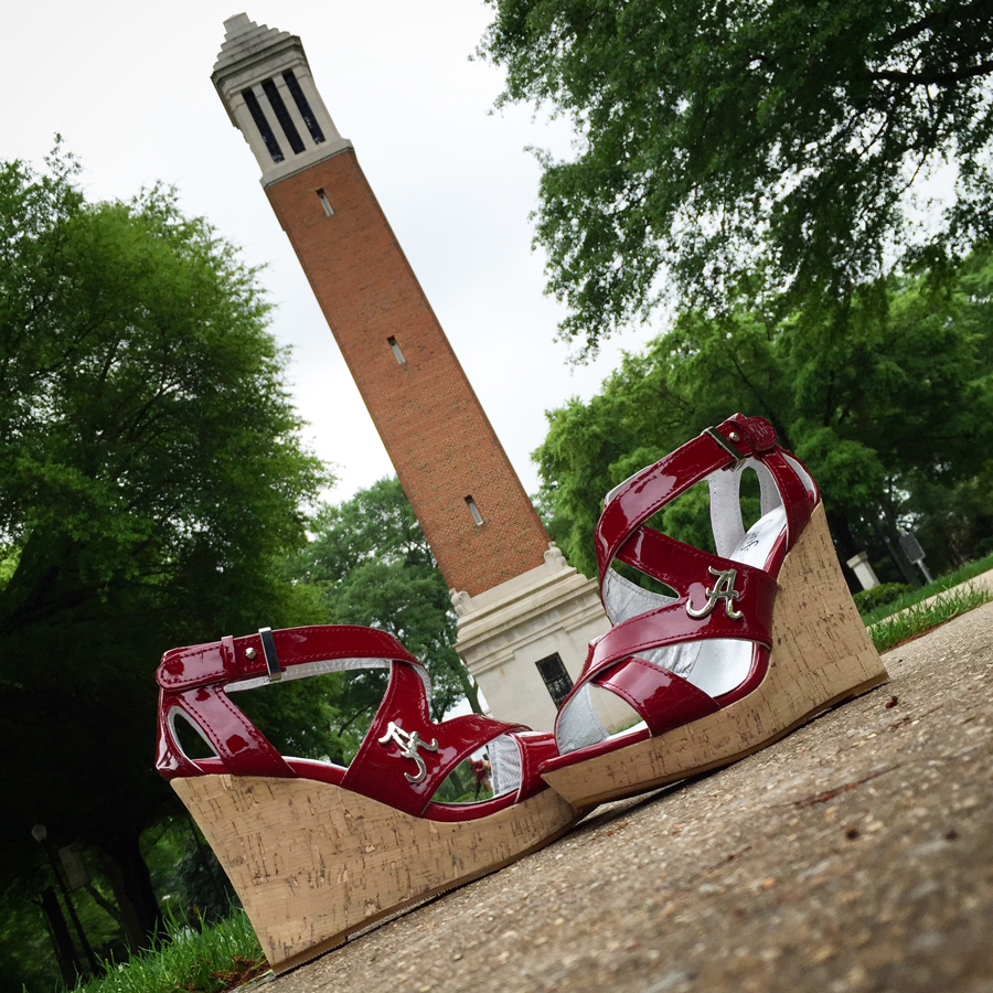 Alabama Heels - Bama Heels - Bama Wedge