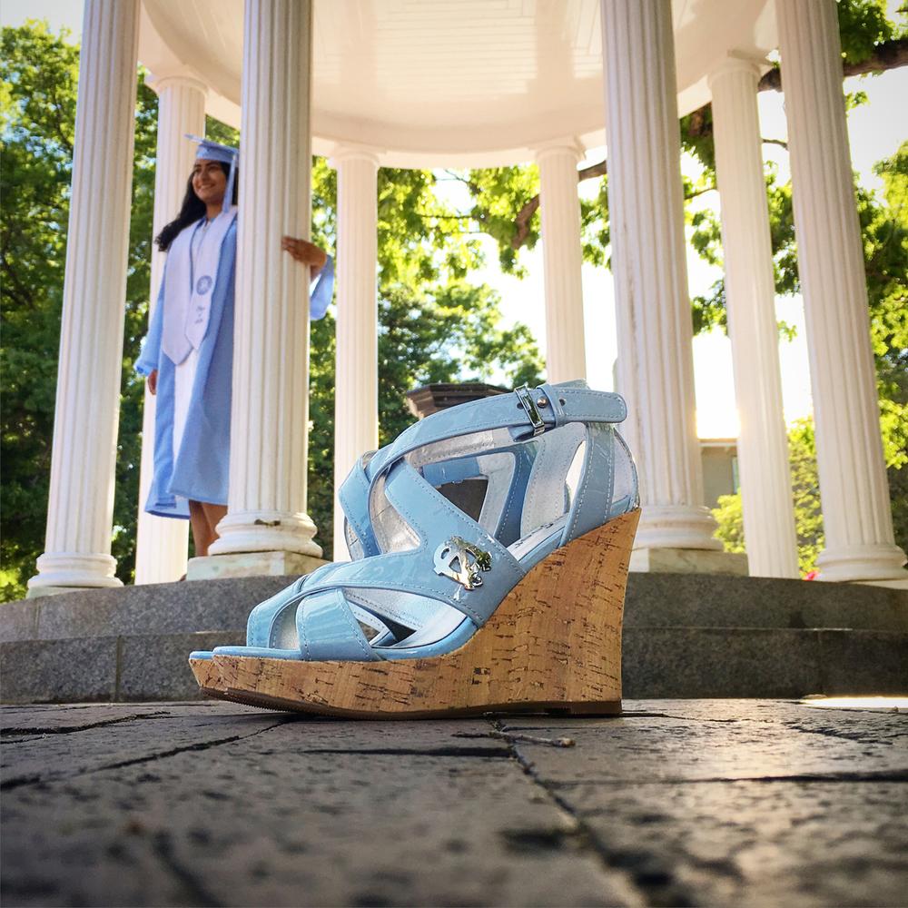 UNC Heels - Tarheeled - Wedge