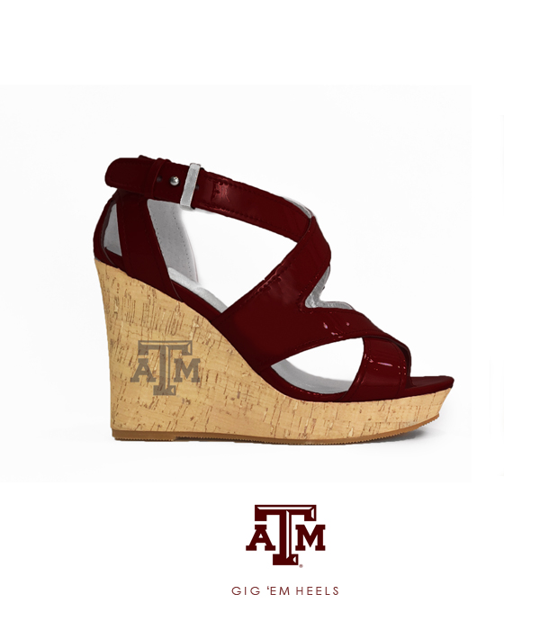 The 12th Man Wedge (Maroon)