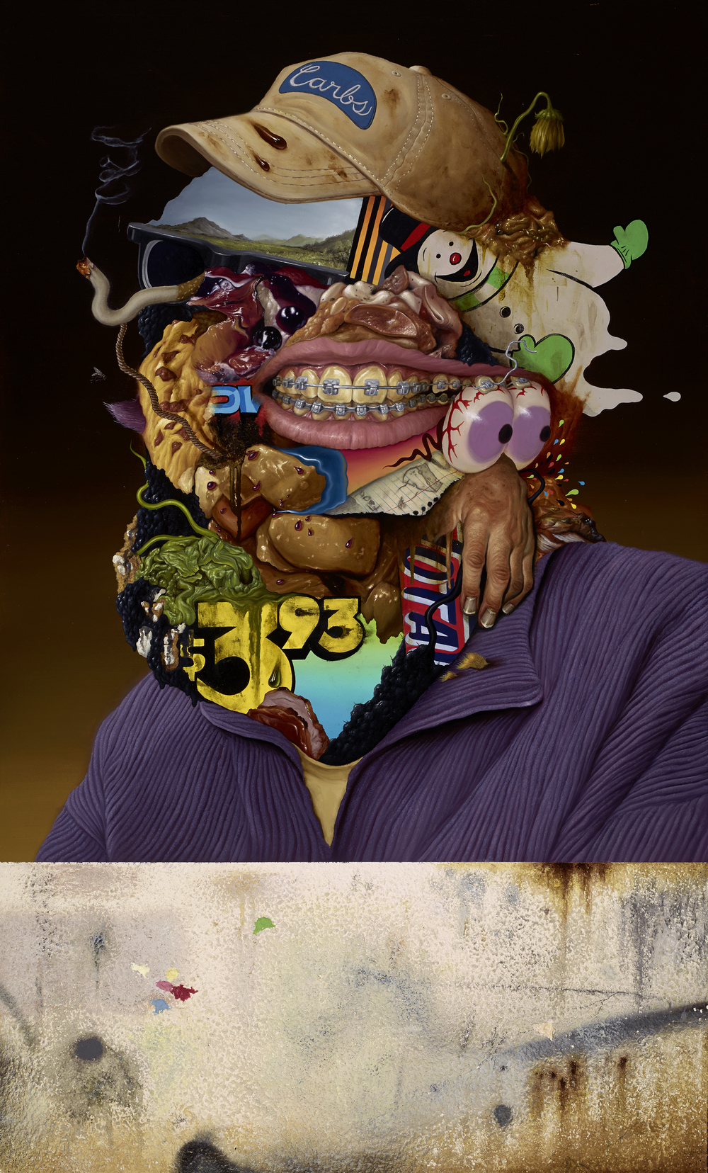 Mad Carbohydrates (Arcimboldo takes a trip to the Topanga Mall)