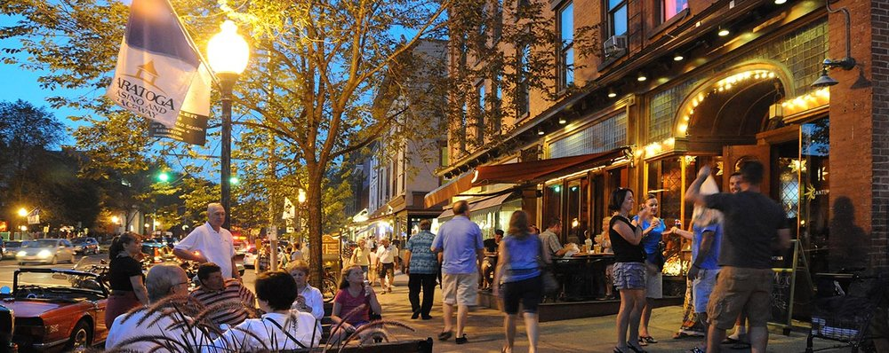 Downtown Saratoga Springs, NY