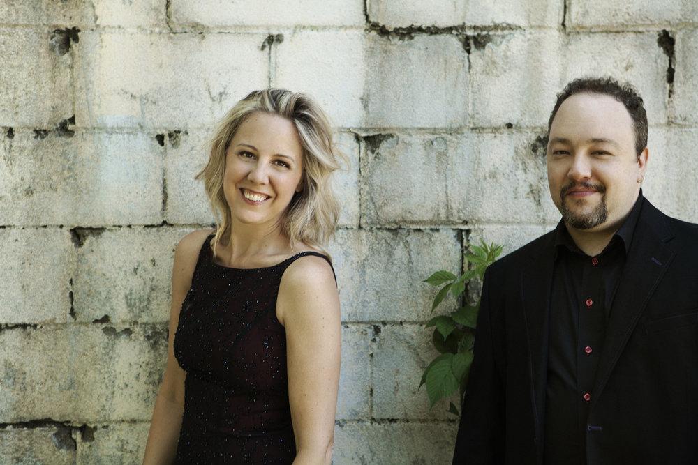 Victoria & Robert Paterson, Directors, Mostly Modern Festiva l  (photo credit: Lisa-Marie Mazzucco)