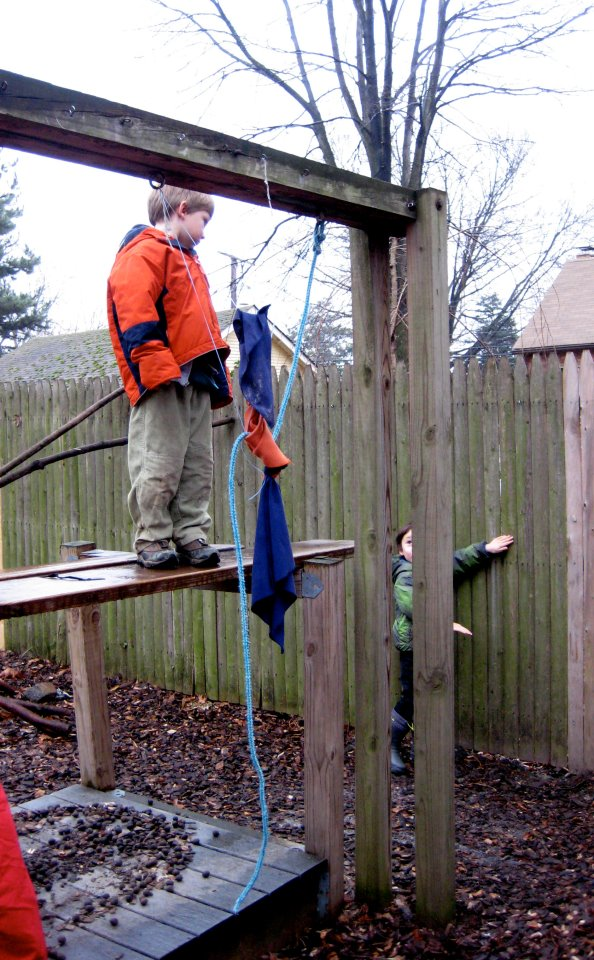 Children work out their own risk assessment